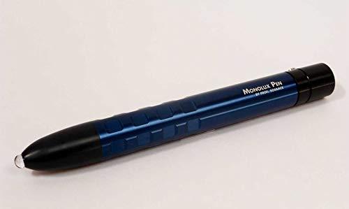 Monolux-Pen - Point - Lichtgriffel mit Farbwechsler mit Bergkristallsonde, Farblichtherapie,