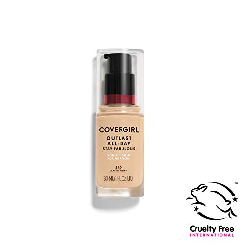 COVERGIRL - Outlast Stay Fabulous 3-in-1 Foundation Classic Ivory - 1 fl. oz. (30 ml) -