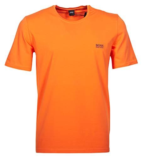 751b7af21703 BOSS – Camiseta – Redondo – Manga Corta – para Hombre Naranja ...