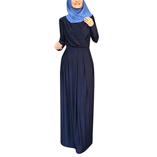 Langes Maxikleid Muslim Robe Kleider Islamische Kleidung Abaya Dubai Kostüm Elegante Muslimischen Kaftan Kleid Frauen Muslims Kleidung ()