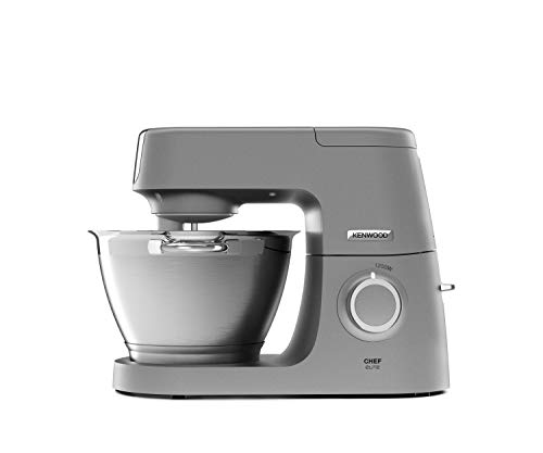 Kenwood KVC5320S Chef Elite Küchenmaschine, Aluminium, 4.6 liters, Silber