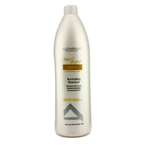 AlfaParf Semi Di Lino Diamond Illuminating Shampoo 1000ml (Semi Lino Haar-produkte Di)