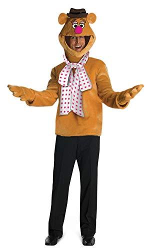 Für Fozzie Kostüm Erwachsenen - Horror-Shop Fozzie Bär Kostüm