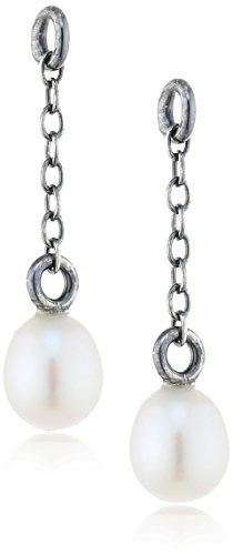 Trollbeads Damen-Bead 925 Silber Perlmutt creme - TAGEA-00007