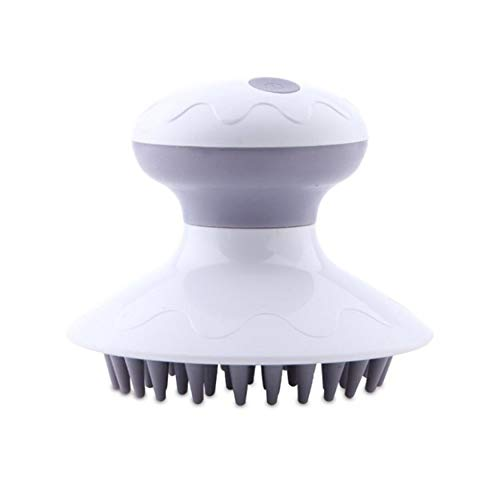 Electric Shampoo Comb Massage Brush Head Massage Utensils Waterproof Battery-powered Rabbit Styling And Digestion Helping Personal Care Appliances