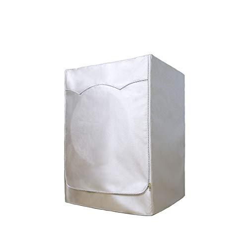 NANAD Waschmaschinen-Staubbezug, Oxford-Stoff, wasserdicht, Oxford-Waschmaschinenbezug, Anti-Aging, staubdicht, Schutzabdeckung für Frontlader, Waschmaschine und Trockner, Wie abgebildet, XL