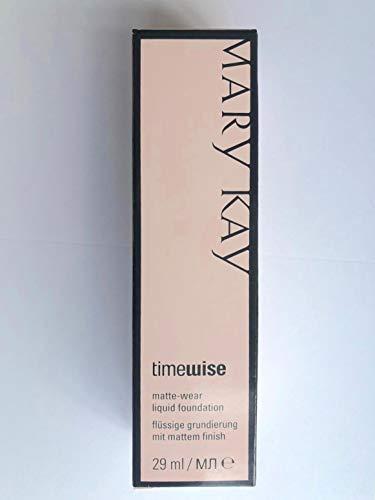 Beige 2 Mary Kay TimeWise Matte Wear Foundation - flüssige Grundierung für Mischhaut/fettige Haut MHD 2020/21 - Beige Flüssig-foundation