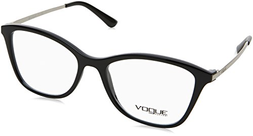 VOGUE Optical Frames Frame BLACK WITH DEMO LENS