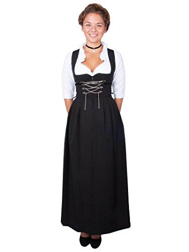 Stockerpoint Damen Dirndl Amber, Schwarz (Schwarz Schwarz), 34