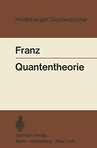 Heidelberger Taschenbücher, Bd.102: Quantentheorie