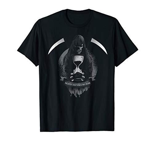Kostüm Grim Reaper Herren - Lustige Grim Reaper Sense wirklich Scary Totenkopf Halloween T-Shirt