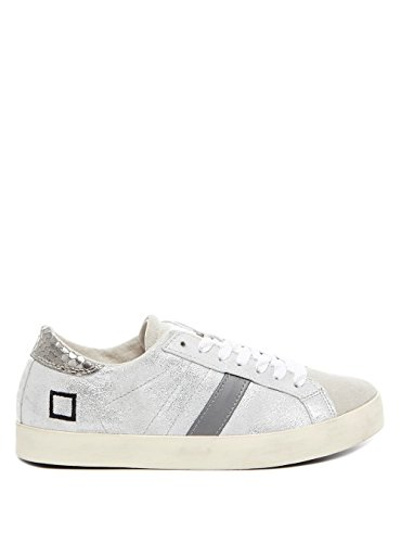 DATE HILL LOW STARDUST SILVER LEATHER (37)