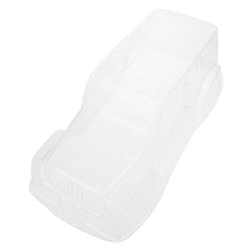 PVC-Körper Shell Wheel Base Transparent 313mm Für RC Axial 1/10 Jeep Wrangler -
