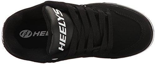 Heelys Motion Plus (770533) Unisex-Kinder Sneaker Schwarz / Weiß