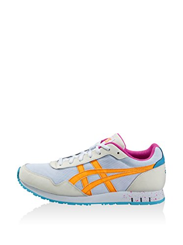 Asics Curreo Unisex-Erwachsene Sneaker Weiß/Mehrfarbig