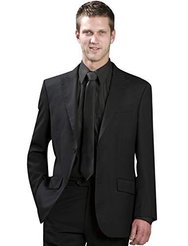 UMISS Herren Zwei Knöpfe 2 Stück Peak Revers Anzüge Jacke Hosen -