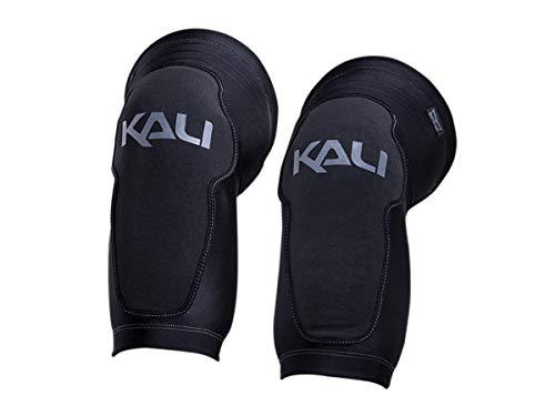 Kali Protectives 0410117128Kniebandage Fahrrad-Unisex Erwachsene, schwarz/grau, Größe: XL