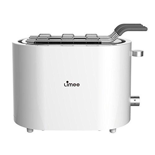 Limee TR0721S Minimal 2-Slice Toaster,Sandwich cage,Keep Warm Toasters