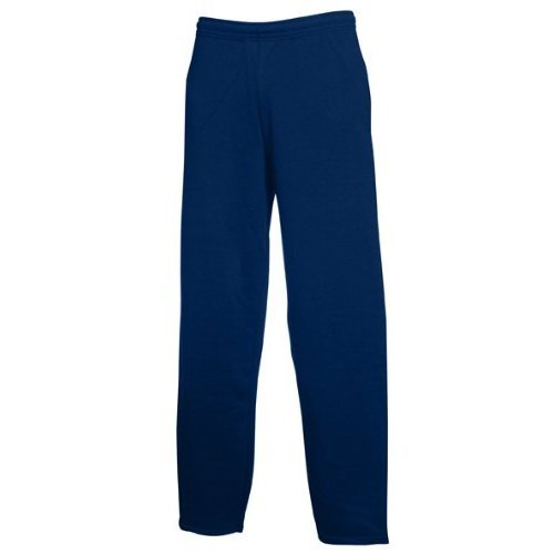 Fruit of the Loom-Pantalone sportivo da uomo Navy blue
