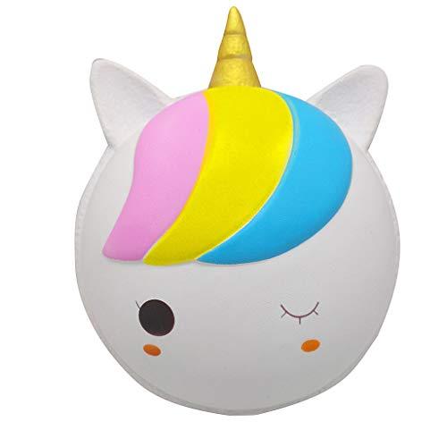 Sulifor Dekompressionsspielzeug, Macarons super großer analoger Dekompressionsauspuff spielt gutes Geschenk der Kinder