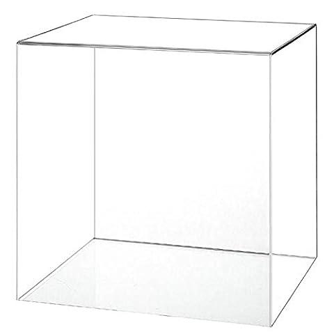 Acrylique vitrine basket-ball Base avec un choix de styles Cover Only, No Base