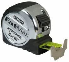 TAPE MEASURE, 5M/16' FATMAX XTREME 5-33-886 By STANLEY FAT MAX
