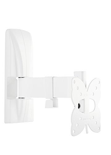 Meliconi Slimstyle 100 SR Support Mural Blanc