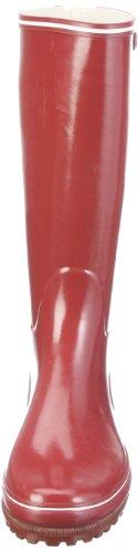 Aigle Damen Venise Gummistiefel Navy/Weiß 35 Rot (Crimson)