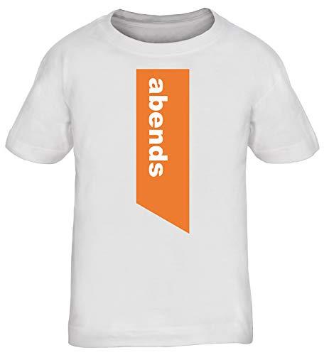 Zahnpasta Kostüm - Abends Zahnpasta Paar-Kostüm Kinder T-Shirt Karneval & Fasching witzige Verkleidung Weiß // 12 Jahre (142cm - 152cm)