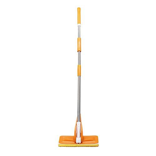 ZSLLO Sponge Mop nass und trocken frei Handwäsche Mop Squeeze Wasser Falten Mop Haushalt Gummikopf Bodenfliese Holzboden saugfähigen Mop Schwamm wischen (Trocken Mops Für Holzböden)