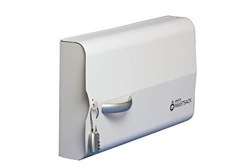 meinPAKETSACK Safety - die sichere Paketstation für Zuhause, Paketbox für alle Paketdienste zur Annahme von Paketen in Miet- und Eigentumswohnungen, universelle Montage & platzsparend - 5