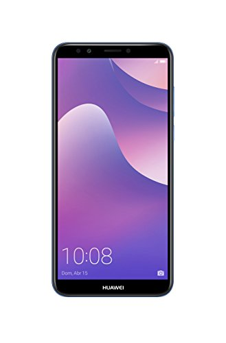 "Huawei Y7 Prime - Smartphone de 5.99"" (cámara DE 13+2MP/8MP, Memoria de 3GB+32GB, 3000mah), Color Azul (Brillo) [Exclusivo Amazon]"