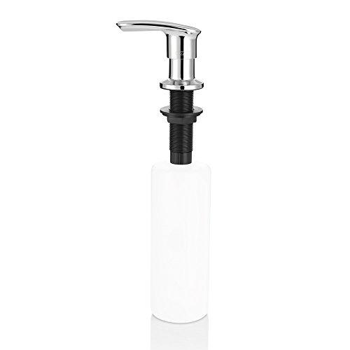 Cozzine Dispensador de jabón (Aleación de zinc), 500ML, para Cocina, Baño, Hotel