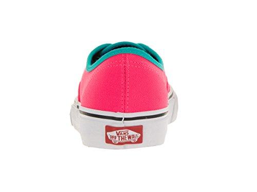 Vans Unisex-Erwachsene Authentic Low-Top (brite) neon pink/black