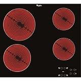 Whirlpool AKT 8090/NE hobs - Placa (Integrado, Cerámico, Vidrio y cerámica, Tocar,...