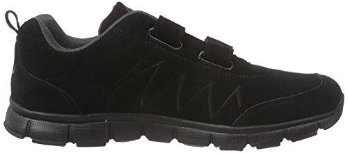 Brütting 591148, Baskets Basses homme Noir (Schwarz/Grau)