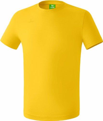 Erima Kinder T-Shirt Teamsport, Gelb, 164, 208336 (Gelbes Volleyball T-shirt)