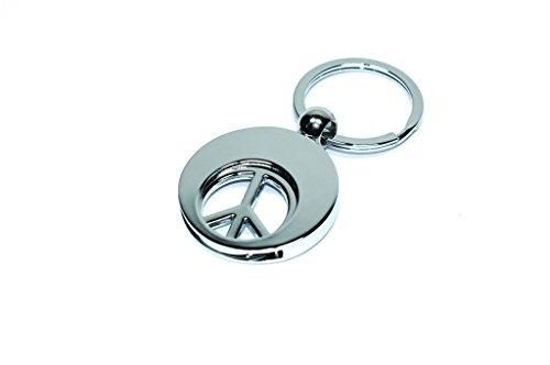 Preisvergleich Produktbild Einkaufswagenchip Chip Schlüsselanhänger Peace