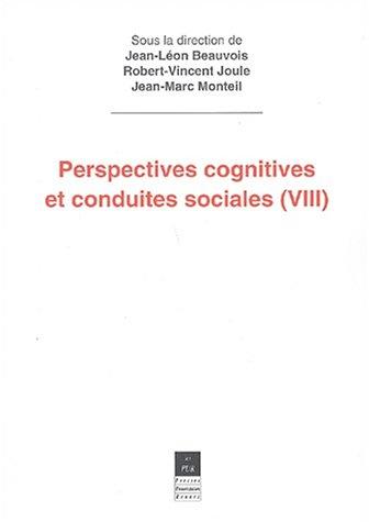 Perspectives cognitives et conduites sociales 8