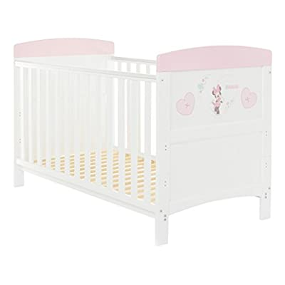 Disney Minnie Mouse Inspire Cot Bed - Hearts  HWF Shop