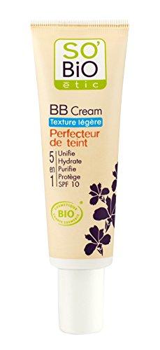 So'Bio Étic Teint BB Crème Texture Légère 02 Beige Éclat Tube de 30 ml Lot de 2
