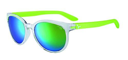 Cébé Erwachsene Sunrise Sonnenbrille, Shiny Translucent Green, Medium