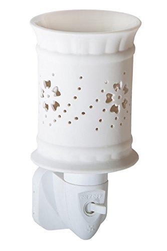 Candle Lite-Luz Nocturna, Sula, Color Blanco, 7.5x 10.5x 12cm