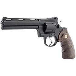 ASG RÉPLIQUE Airsoft 0,5 Joules Revolver R/357 Black 0.5 Joules (Vente Interdite aux Personnes âgées de Moins de 18 Ans)