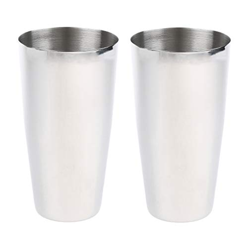 2 Unidades/Juego Bebida De Acero Inoxidable Batido De Leche Jugo De Batido Mezclador para Helado Copa...