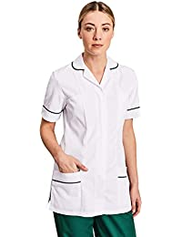 c6be8d6bb30dbe Simon Jersey Women s White Healthcare Tunic Medical Uniform