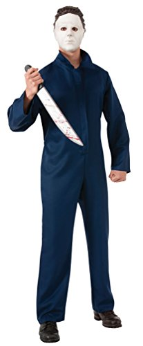 ,Karneval Klamotten' Kostüm Michael Myers Halloween Herrenkostüm Overall inkl. Maske Größe - Für Kinder Myers Michael Kostüm