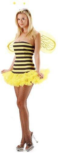 Leg Avenue 3-teiliges Honig-Bienen Kostüm , 1 Stück