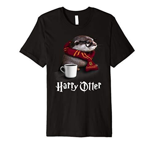 Baby Tasse Kaffee Kostüm (Harry Otter Tshirt - Süßes und lustiges Otter)