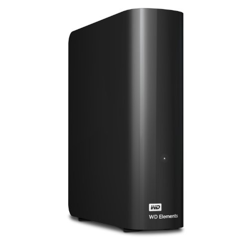 Digitale Externe Usb (Western Digital 4TB Elements Desktop externe Festplatte USB3.0 -WDBWLG0040HBK-EESN)